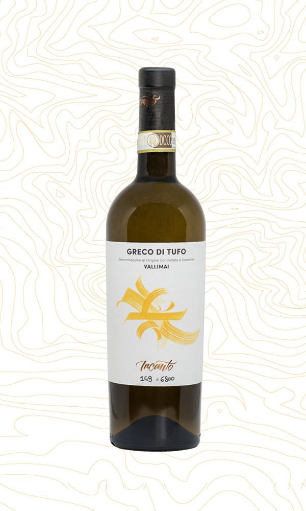Bottiglia di vino Greco di Tufo