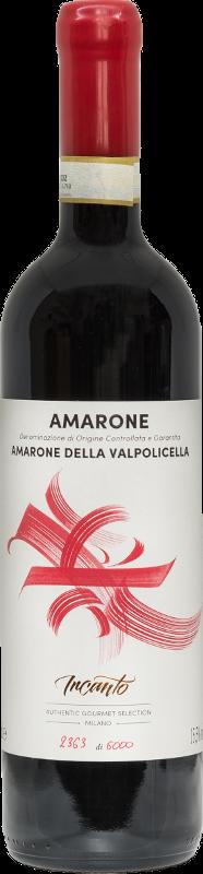 Bottle of Amarone wine
