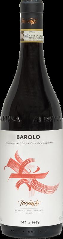 Bottiglia vino rosso Barolo