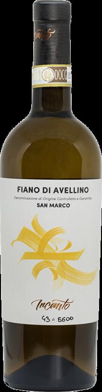 Bottiglia vino bianco Fiano di Avellino
