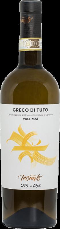 Bottiglia vino bianco Greco di Tufo