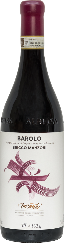 Barolo Bricco Manzoni red wine