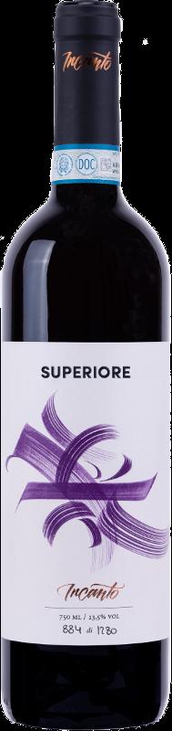 Bottiglia vino rosso Valpolicella Superiore