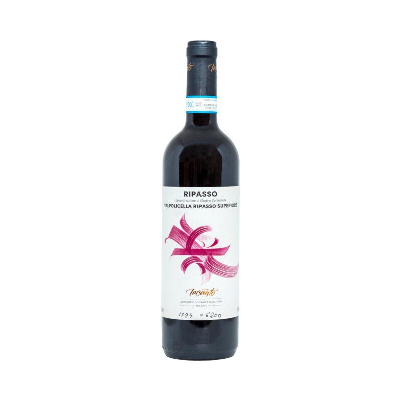Bottiglia di vino rosso Ripasso